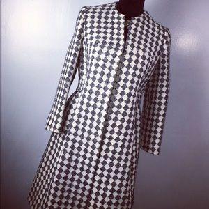 Jackets & Blazers - Elegant Houndstooth Coat 💋